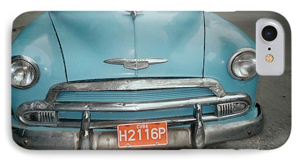 Old Havana Cab IPhone Case by Quin Sweetman