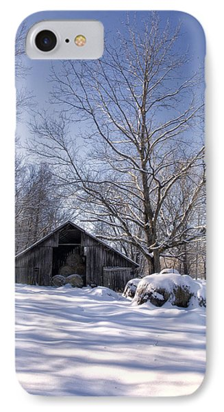 IPhone Case featuring the photograph Old Hay Barn Boxley Valley by Michael Dougherty