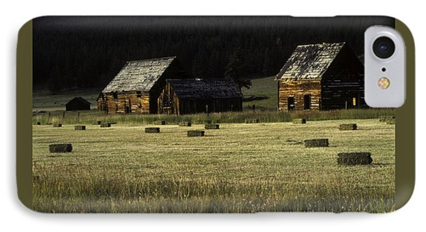 Old Homestead-potomac Montana IPhone Case