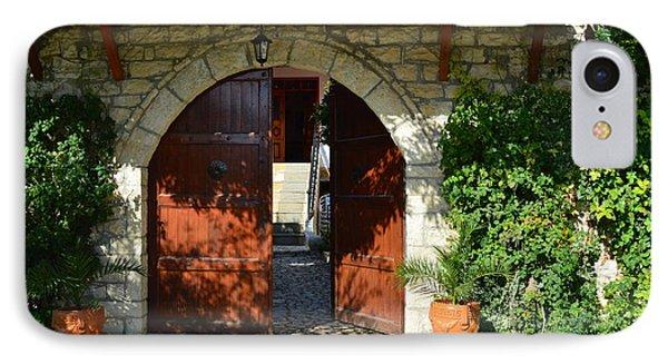 Old House Door IPhone 7 Case by Nuri Osmani