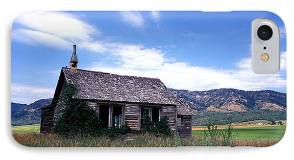Old House In Idaho Phone Case by Kathy Yates
