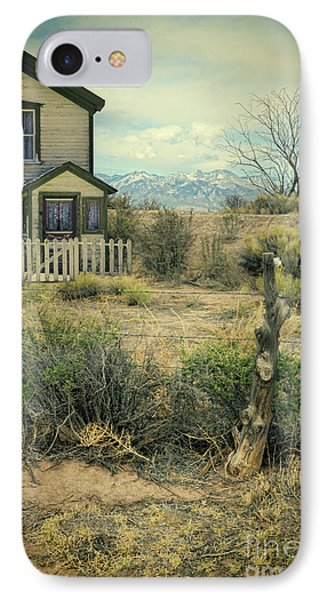 IPhone Case featuring the photograph Old House Near Mountians by Jill Battaglia
