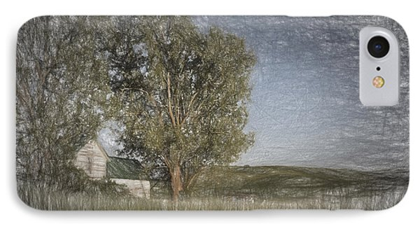 Old House On The Palouse  II IPhone Case by Jon Glaser