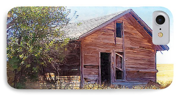 IPhone Case featuring the photograph Old House by Susan Kinney