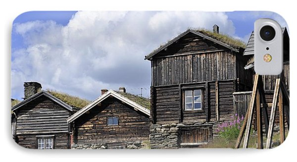 Old Houses In Roeros IPhone Case by Thomas M Pikolin