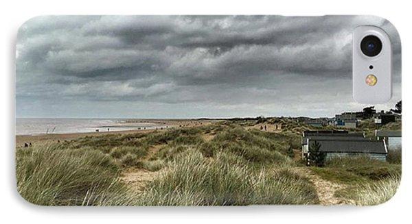 Old Hunstanton Beach, North #norfolk IPhone Case