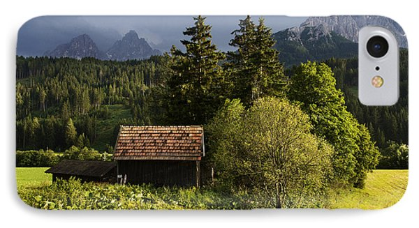 IPhone Case featuring the photograph Old Hut In Austria by Yuri Santin