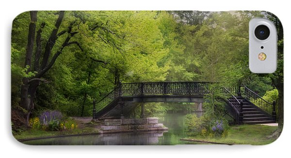 IPhone Case featuring the photograph Old Iron Bridge by Robin-Lee Vieira