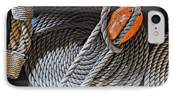Old Ironsides Rope IPhone Case