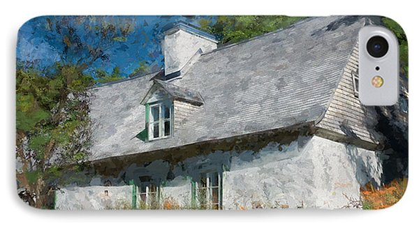 Old Island Cottage IPhone Case