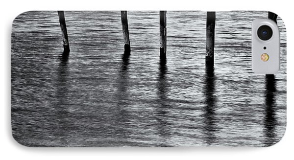 IPhone 7 Case featuring the photograph Old Jetty - S by Werner Padarin