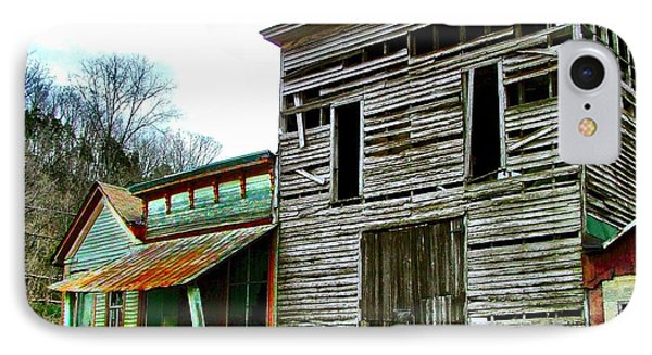 Old Leavenworth Indiana Ghost Town II IPhone Case by Julie Dant