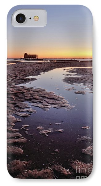 Old Lifesavers Building At Twilight IPhone Case by Angelo DeVal