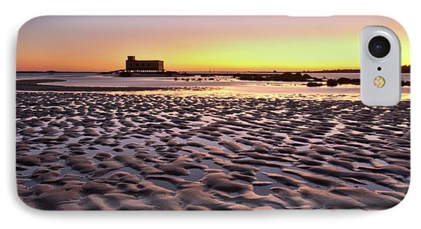 Old Lifesavers Building Covered By Warm Sunset Light Phone Case by Angelo DeVal