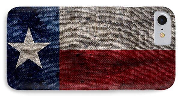 Old Lone Star Flag Phone Case by Jon Neidert