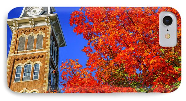 Old Main Maple IPhone Case by Damon Shaw