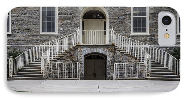 Old Main Penn State Stairs  IPhone 7 Case by John McGraw