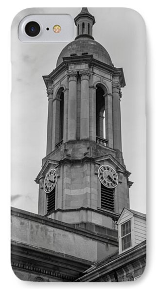 Old Main Tower Penn State IPhone Case by John McGraw