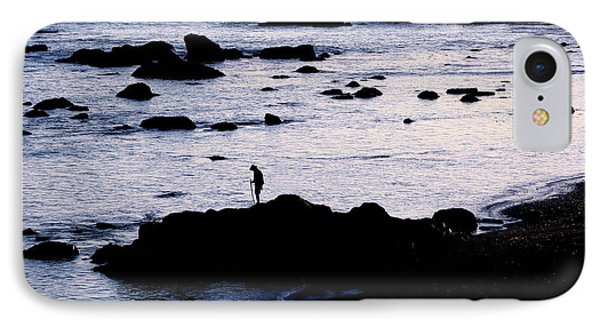 IPhone Case featuring the photograph Old Man And The Sea by Jan Cipolla