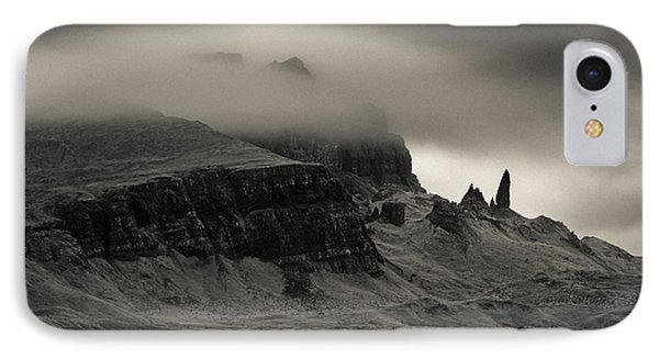 Old Man And The Storr IPhone Case
