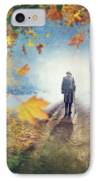 Old Man Going Alone  IPhone Case