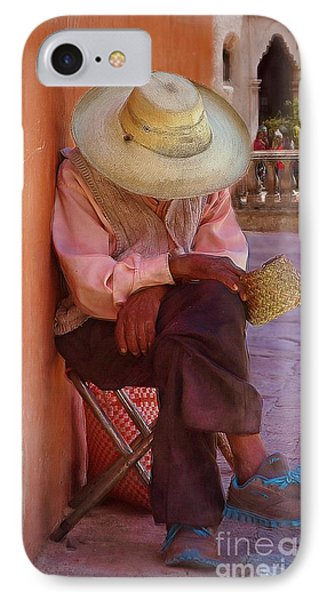 Old Man In Atottonilco IPhone Case by John  Kolenberg