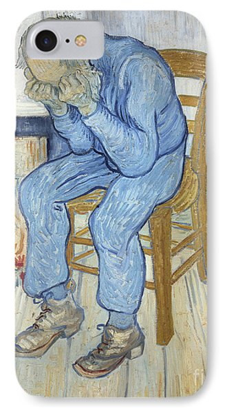 Old Man In Sorrow IPhone Case by Vincent van Gogh