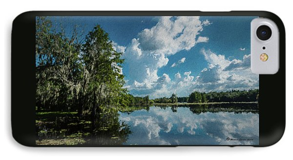 Old Man River IPhone Case by Marvin Spates