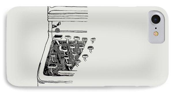 Old Manual Typewriter Phone Case by Sheri Buchheit