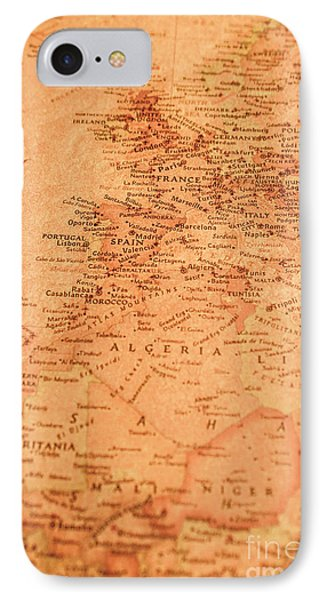 Old Maritime Map IPhone Case by Jorgo Photography - Wall Art Gallery