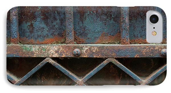 IPhone Case featuring the photograph Old Metal Gate Detail by Elena Elisseeva