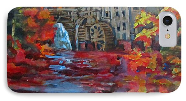 Old Mill In Autumn IPhone Case by John Malone