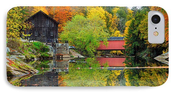 Old Mill In The Fall  IPhone Case by Emmanuel Panagiotakis