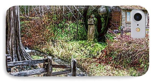 Old Mill IPhone Case by Jean OKeeffe Macro Abundance Art