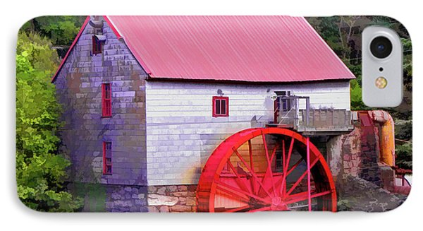 Old Mill Of Guilford Painted Square IPhone Case by Sandi OReilly