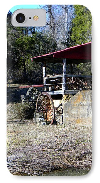 IPhone Case featuring the photograph Old Mill Of Guilford Pumphouse by Sandi OReilly