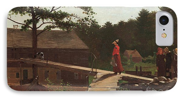 Old Mill, The Morning Bell, 1871 IPhone Case