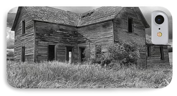 Old Montana Farmhouse Phone Case by Sandra Bronstein
