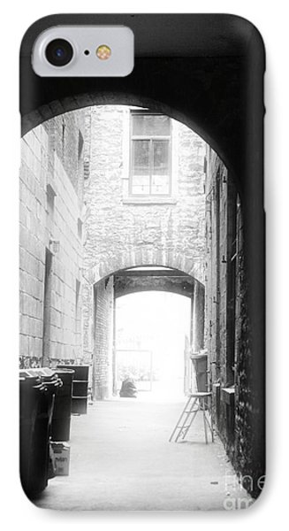 Old Montreal Alley Phone Case by John Rizzuto