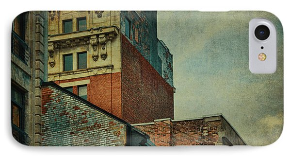 Old Montreal - Architectural Details IPhone Case by Maria Angelica Maira
