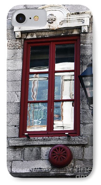Old Montreal Window Phone Case by John Rizzuto