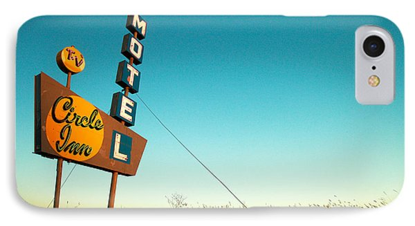 Old Motel Neon IPhone Case by Todd Klassy