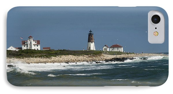 Old New England Lighthouse Phone Case by Barry Doherty