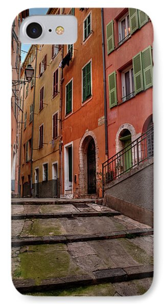 IPhone Case featuring the photograph Old Nice - Vieille Ville 002 by Lance Vaughn