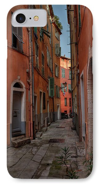 IPhone Case featuring the photograph Old Nice - Vieille Ville 003 by Lance Vaughn