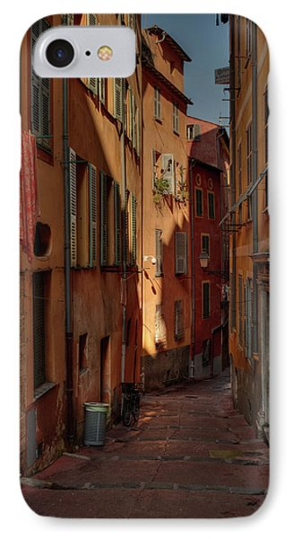 IPhone Case featuring the photograph Old Nice - Vieille Ville 004 by Lance Vaughn