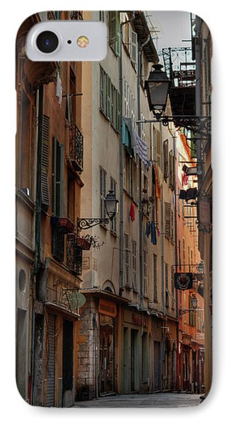 IPhone Case featuring the photograph Old Nice - Vieille Ville 005 by Lance Vaughn