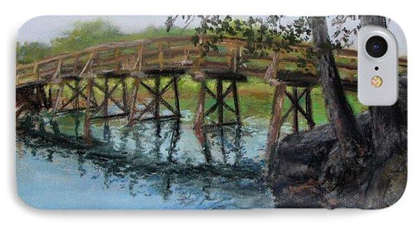 Old North Bridge In Pastel IPhone Case by Jack Skinner