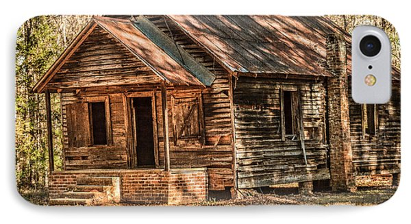 Old One Room School House Phone Case by Phillip Burrow