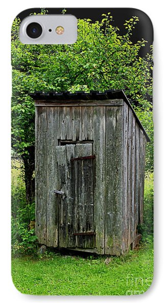 Old Outhouse IPhone Case by Esko Lindell